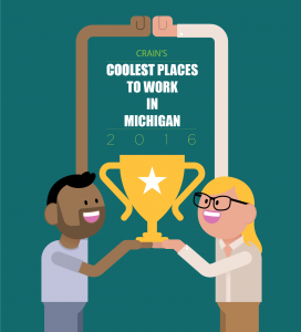 award-crain's-coolest-places-to-work-in-michigan-2016